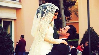 عروس و داماد خوشحال