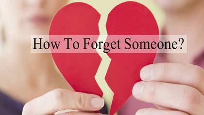 راههای فراموش کردن یک نفر