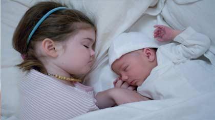 خواب راحت شبانه برای شما و کودکتان